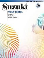 Viulukoulu Suzuki violin school volume 1 + cd Revised Edition