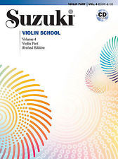 Viulukoulu Suzuki Violin School Volume 4 + CD New Edition