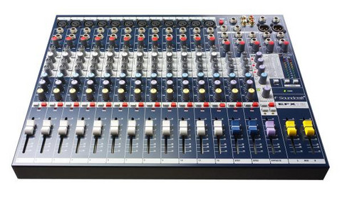 Mikseri Soundcraft EFX 12