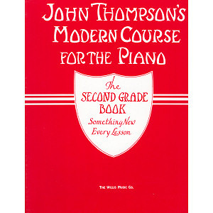 Pianokoulu THOMPSON MODERN PIANO COURSE 2 (Thompson pianokoulu 2 englanninkielinen)