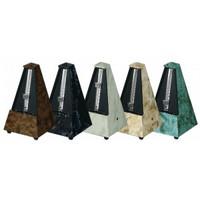 Metronomi Wittner, pyramidimalli, mahonkikuviointi
