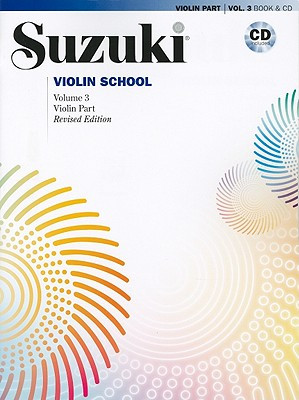 Viulukoulu Suzuki Violin School volume 3, Revised Edition