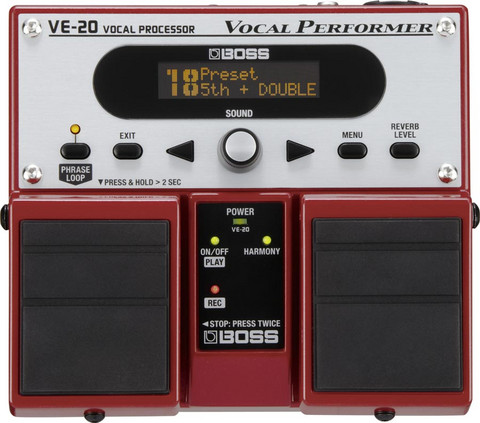 Lauluprosessori Boss VE-20 Vocal Performer