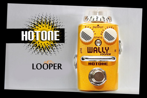 Looper pedaali Hotone WALLY