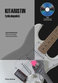 KITARISTIN TYÖKALUPAKKI KIRJA + DVD (KETOLA TIMO)