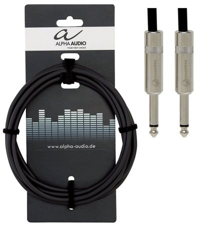 Instrumenttijohto plugi/plugi 3m Alpha Audio Pro Line