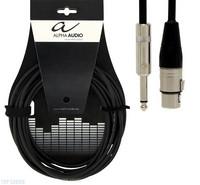 Mikrofonijohto xlr/plugi 6m Alpha Audio Pro Line