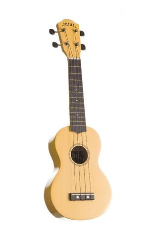 Ukulele sopraano Noir NU-1S, keltainen (sis. pussi)