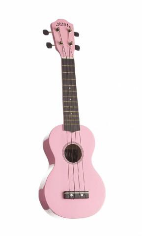 Ukulele sopraano Noir NU-1S, vaaleanpunainen (sis. pussi)