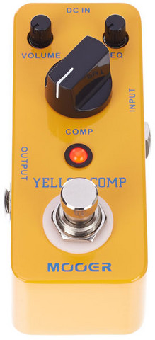 Kompressoripedaali Mooer Yellow Comp