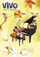 Pianokoulu Vivo piano - alkeiskirja + cd