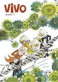 Pianokoulu Vivo Piano1 (Jääkeläinen Kantala Rikandi) uusi painos!