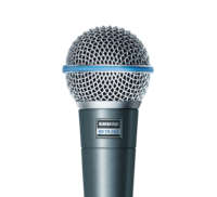 Laulu-/instrumenttimikrofoni Shure Beta 58A