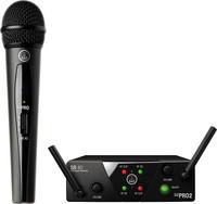 Langaton mikrofonisetti AKG WMS40 Mini Vocal Set ism2, kiinteä taajuus (864.375MHz)