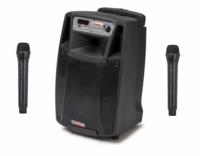 PA-kaiutin akkukäyttöinen aktiivi, bluetooth mikseri Audio Design M210W/L 300W