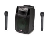 PA-kaiutin akkukäyttöinen aktiivi, bluetooth mikseri Audio Design M212W/L, 450W