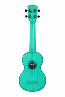 Ukulele sopraano Kala Waterman fluorescent  blue