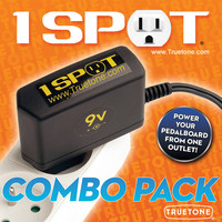 Pedaalimuuntaja 9V, 1700mA Truetone 1 Spot Combo (8-pedaalia)