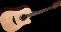 Elektro-akustinen kitara Lag Tramontane T70DCE