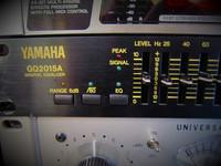 Ekvalisaattori Yamaha GQ2015A  (2*15) käytetty