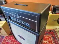 Myydään asiakkaan lukuun Kitaravahvistin Kustom Quad 200HD (Käyt) + Kustom 4 x 12