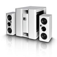 PA-setti aktiivi LDDAVE8xs 1x8' ja 2x4' + 1', valkoinen (350W)