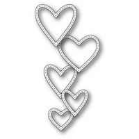 Stanssi, Classic Stitched Heart Rings