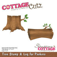 Stanssi, Tree Stump & Log for Peekers