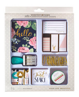 Color Crush Planner & Stationery Accents Kit, Hello Dear, 96osaa