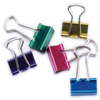 Mini Binder Clips, eri värejä, 12kpl