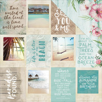 Island Escape Double-Sided Elements Cardstock, Ohana 12x12