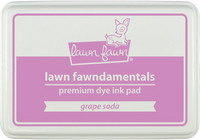 Leimamustetyyny, Lawn Fawn Dye Ink, Grape Soda