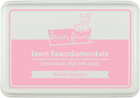 Leimamustetyyny, Lawn Fawn Dye Ink, Ballet Slippers