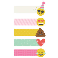 Carpe Diem Emoji Love Page Flags, tarralaput