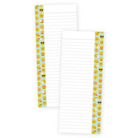 Carpe Diem Emoji Love Double-Sided Bookmark Tablet A5