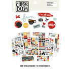 Carpe Diem Say Cheese Sticker Tablet, 609 tarraa