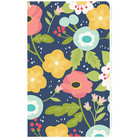 Carpe Diem Navy Floral Doc-It Journal, 24sivua