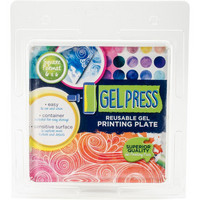 Gel Press Reusable Printing Plate 6