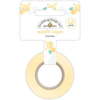 Doodlebug Washi Tape, Busy Bees, 15mmX11m