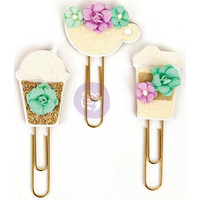 My Prima Planner Clips, Coffee & Tea Lover
