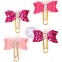 My Prima Planner Clips, Hot Pink Blush