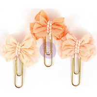 My Prima Planner Clips, Sweet Blush