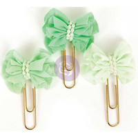 My Prima Planner Clips, Soft Mint