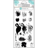 Hampton Art Layering Clear Stamps, Tropical