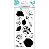 Hampton Art Layering Clear Stamps, Roses