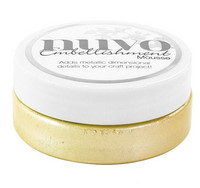 Nuvo Embellishment Mousse, Lemon Sorbet, 62,5g