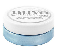 Nuvo Embellishment Mousse, Cornflower Blue, 62,5g