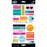 Illustrated Faith Basics Elements Stickers, Go & Tell 2