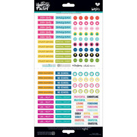 Illustrated Faith Basics Elements Stickers, Planner Pieces