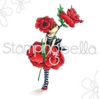 Leima, Stamping Bella, Garden Girl Poppy